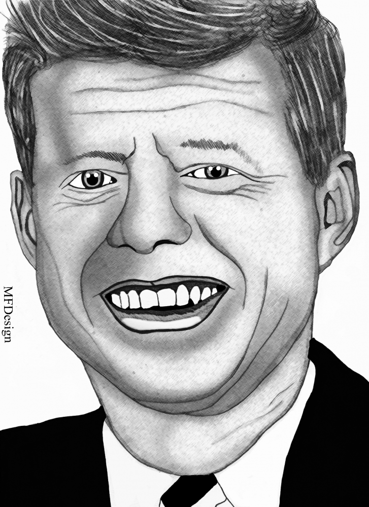 John F. Kennedy by merytamon